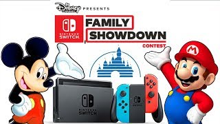 Disney Partners with Nintendo for Switch Game Show