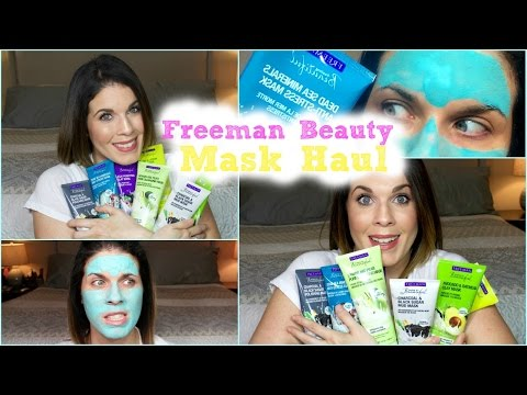 Haul + Mini Review   Freeman Beauty
