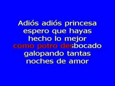 Jose Jose - Adios Princesa