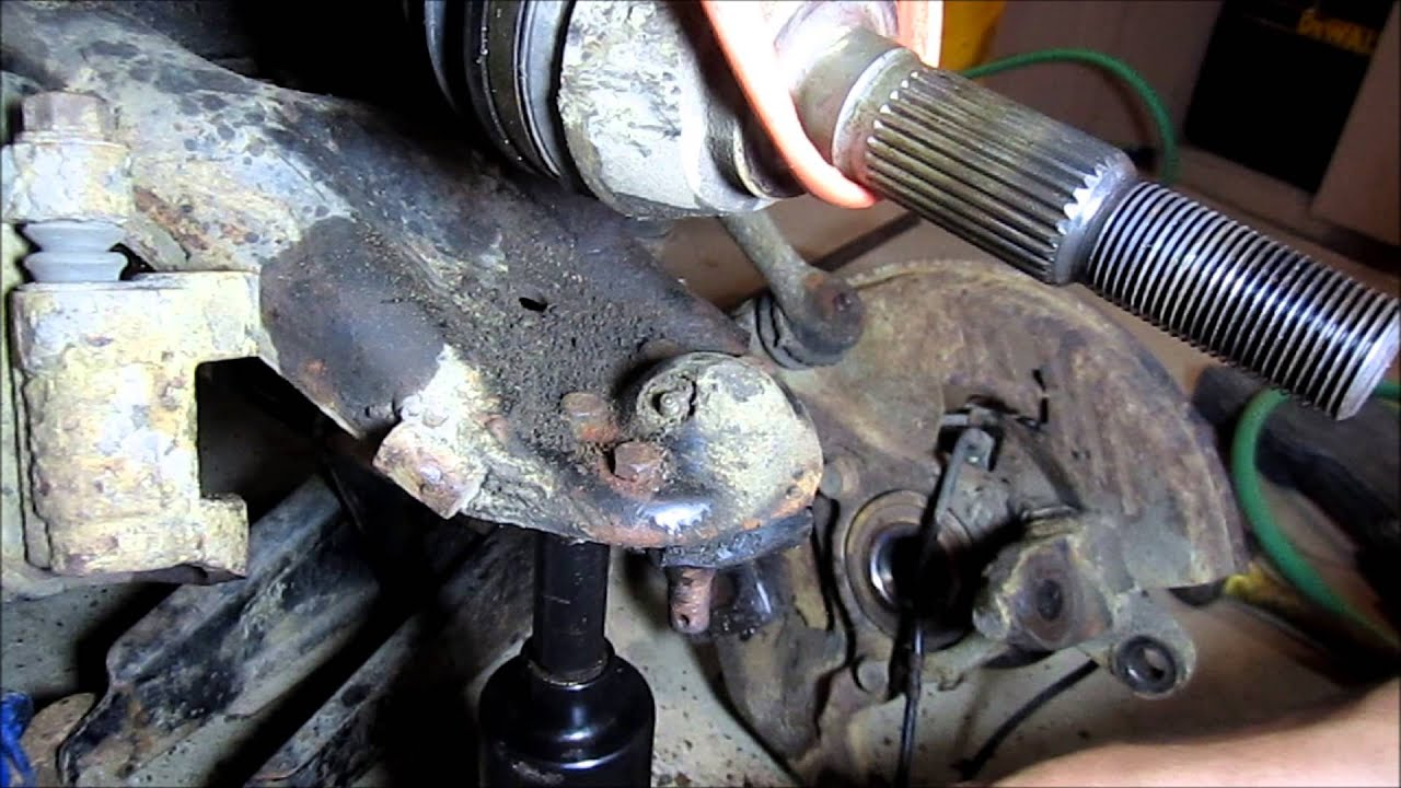 Diy Chevy Blazer Lower And Upper Ball Joint Replacement