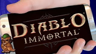 Diablo Immortal Reveal Disaster!