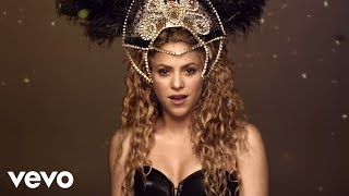 Shakira Video - Shakira - La La La (Brasil 2014) (Spanish Version) ft. Carlinhos Brown