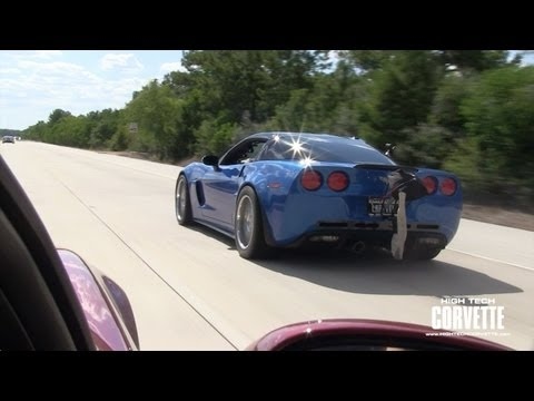 1500hp Corvette running on the street!!!
