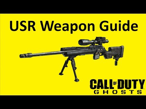 USR Sniper Rifle Weapon Guide Call of Duty Ghosts Best Soldier Setup