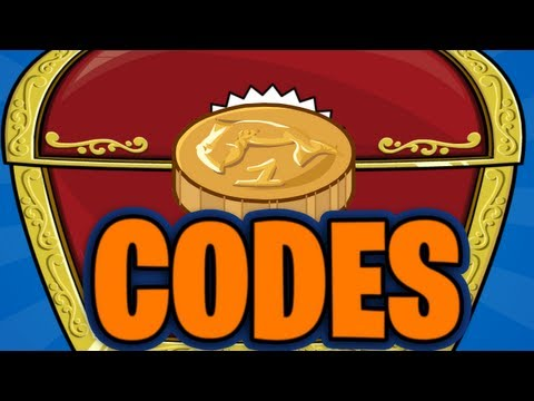 Club Penguin Codes - 70,000 Coins + 18 Items - January 2014