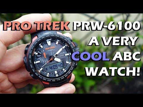 Casio Pro Trek PRW-6100 Review & Brief Comparison with Mudmaster - Perth WAtch #67