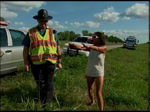 KRCG EXPLICIT: Woman Goes off on Highway Patrol