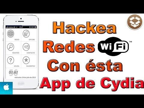 Como hackear redes WI-Fi  Gratis con el iphone ipod y iPad con ésta App de Cydia