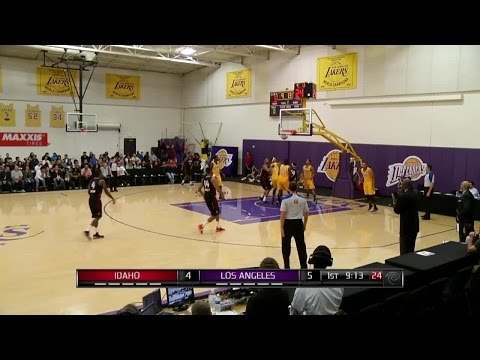 Double-Double (22 points, 10 rebounds) of Toure Murry vs. Los Angeles D-Fenders