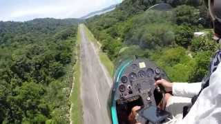 Gyrocopter Girl Flying Costa Rica 2014 Free Sound Version