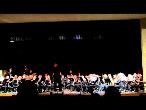 Moffat County High School Band and Jazz Band May 2014