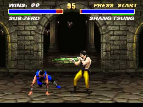 Mortal Kombat 3 - Vizzed.com Play - User video