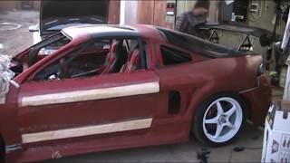 Mitsubishi Eclipse 2G GSX (side air intake ) | welding door air intake | Part 9/12