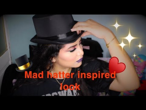 Mad Hatter Inspired Look - Urban Decay Alice Through the Lookin Glass Palette - Angelova