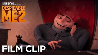 "Despicable Me 2 - Clip: ""Gru practices asking Lucy out"" - Illumination"