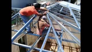 Construcción de Cerchas con Metalcon