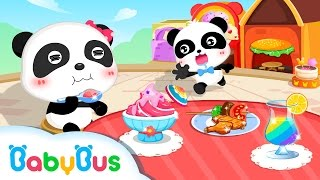 My Little Gourmet | Game Preview | Educational Games for kids | BabyBus| Baby Panda