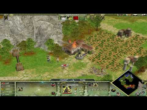 Age of Mythology  The Titans - Parte 2 - El Renacimiento de la Atlántida