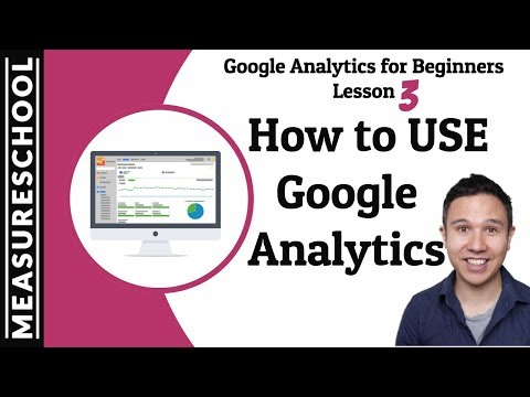 How to analyse data with Google Analytics | Lesson 3