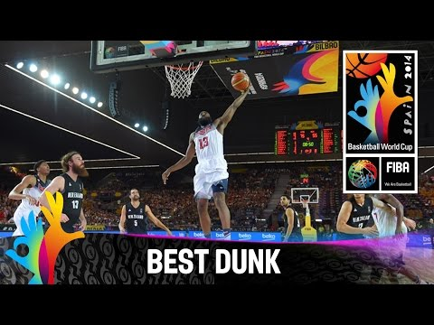 USA v New Zealand - Best Dunk - 2014 FIBA Basketball World Cup