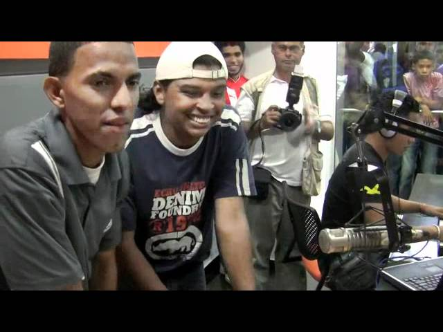Duelo de perreo en Olímpica Stéreo Barranquilla