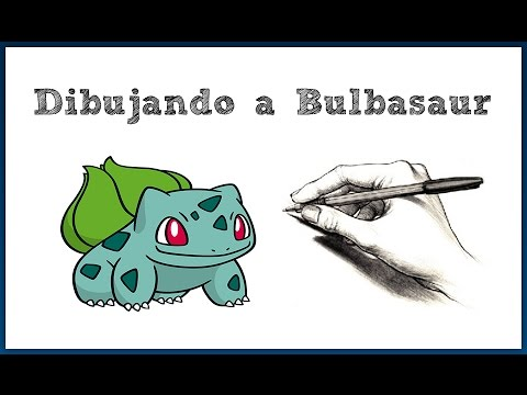 Dibujando a Bulbasaur Pokemon #001