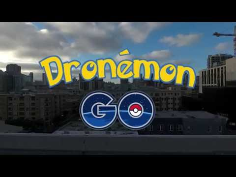 Dronemon Go - Pokemon Go with a Drone