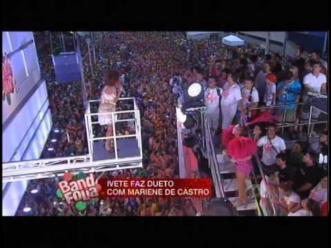 MARIENE de CASTRO & IVETE SANGALO (transmissão completa)14/02/2015 BAND FOLIA