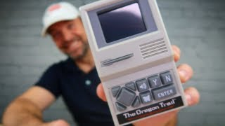 Oregon Trail Handheld Unboxing and Lets Play!