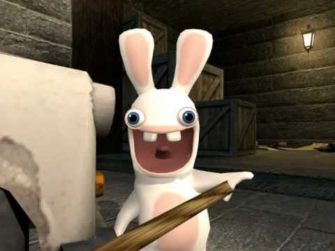 Rabbids Invade Gmod Short - Headcrab Surprise