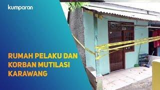 Download Lagu Rumah pelaku dan korban mutilasi Karawang, Jawa Barat. Gratis STAFABAND