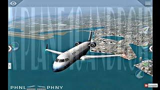 X Plane 10 Android HD/FULL FLIGHT/PHNL🛫🛬PHNY #CRJ200 #XPLANE10MOBILE