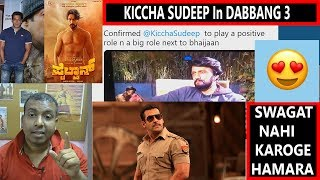 Kiccha #Sudeep Confirms That He Will Be Playing An Important Role In DABANGG 3 With Salman Khan