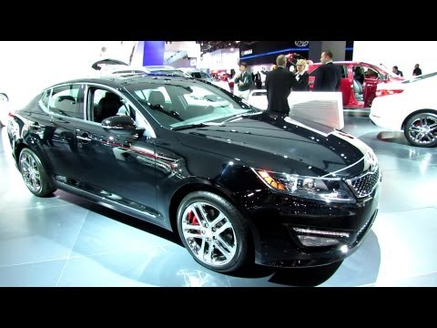 2013 KIA Optima SXL - Exterior and Interior Walkaround - 2013 Detroit Auto Show