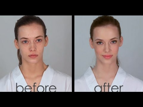 10 Minute Natural Makeup Tutorial Video with Robert Jones