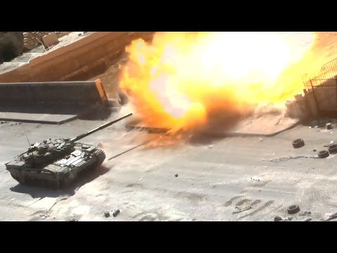 ᴴᴰ Tanks with GoPro's™ ♦ Two T-72 Tanks got Hit in Jobar Syria ٭٭subtitles٭٭
