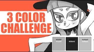 THREE COLOR CHALLENGE (Using Random Colors)