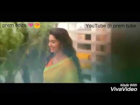 Keerthy suresh fan made video hey nee romba azhaga iruka song version