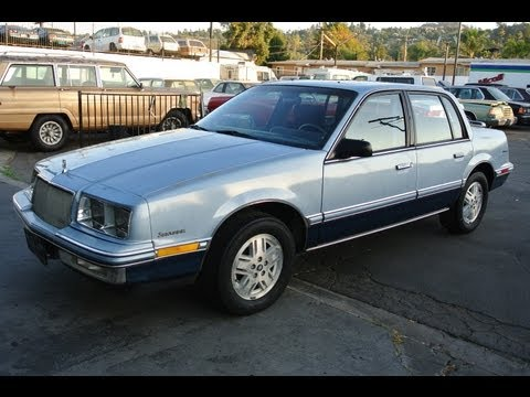 1989 Buick Skylark Custom 26.000 Orig Mi 1 Owner GM 3100 V6 Video Review 4 Sale