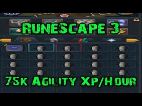 RuneScape 3 – 75k Agility XP/Hour exploit