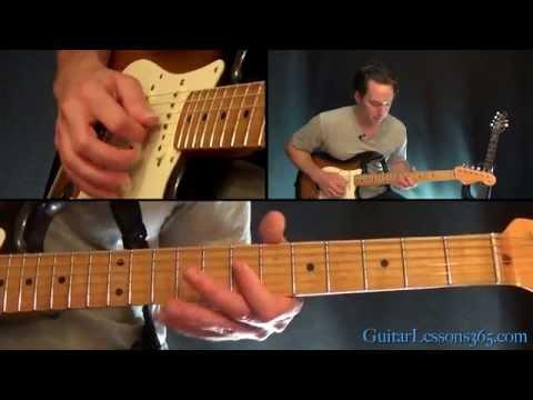Hey Joe Guitar Lesson - Jimi Hendrix - Chords/Rhythms | hey joe chords