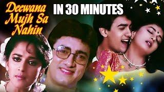 Deewana Mujh Sa Nahi in 30 Minutes   Aamir Khan   Madhuri Dixit   Romantic Bollywood Movie