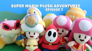Super Mario Plush Adventures Episode 7 (Toad Army Battle)
