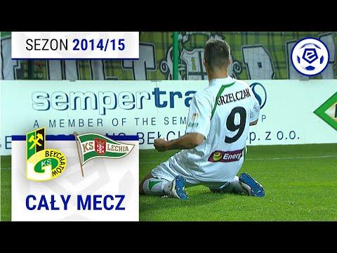 GKS Bełchatów - Lechia Gdańsk [1. Połowa] Sezon 2014/15 Kolejka 08