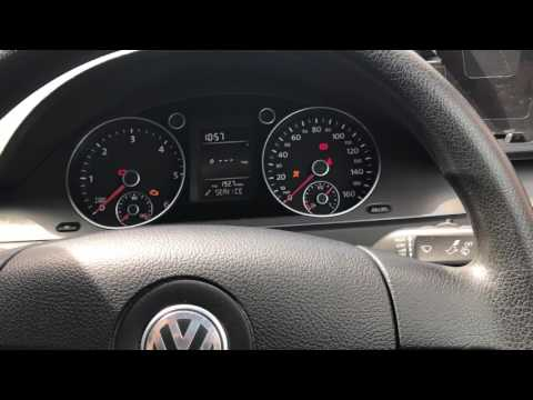 How to reset the oil service light for VW Passat B6. Works w/ Jetta, golf or CC