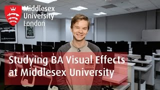 Studying BA Visual Effects | Middlesex University