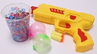 Orbeez Gun with Weird Balloon Maker