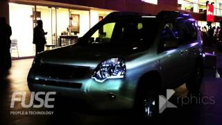 Videomapping Nissan X-Trail 2014