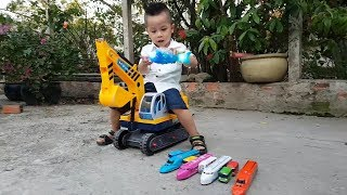 Trò Chơi Đi Săn Và Học Tên Xe Lửa Con Cá ❤ ChiChi ToysReview TV ❤ Đồ Chơi Trẻ Em