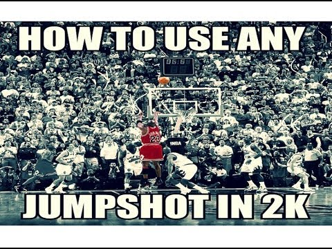NBA 2k14- How to use any player's jumpshot HD